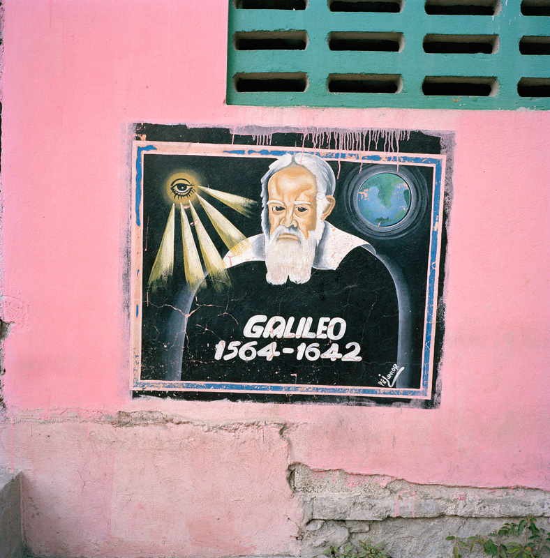 Galileo Painting in Saint-Marc, Haiti - Click to Enlarge